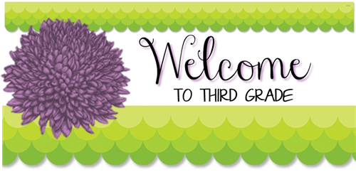 Image result for welcome to third grade